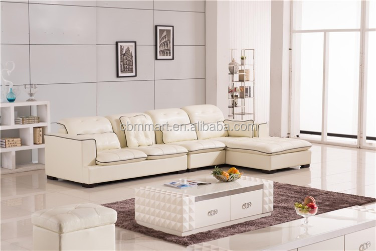 2015 New High quality beige color good quality sofa sala set