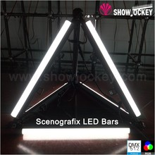 Scenografix LED Bar DMX <strong>RGB</strong> Flashing Fairy Light Stick