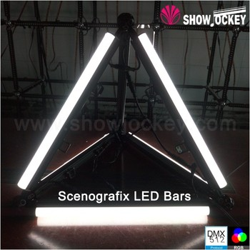 Scenografix LED Bar DMX RGB Flashing Fairy Light Stick