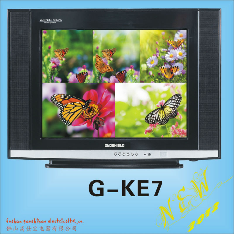 21inch ultra slim Color Crt TV , 14 inch color television