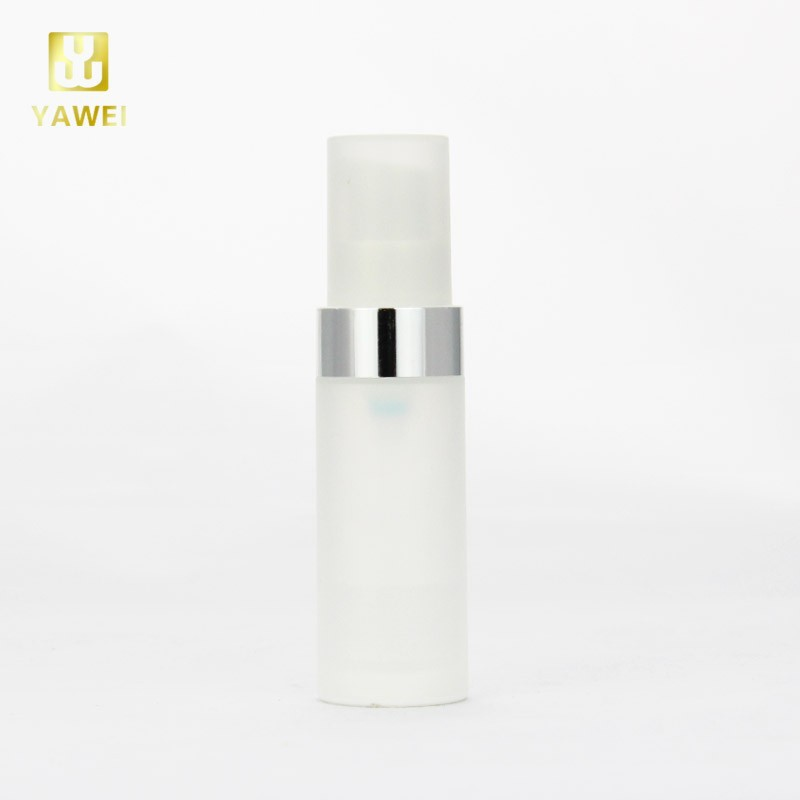 15ml Bottle Plastic Bottle With Pump Dispenser For OEM For Personal Care
