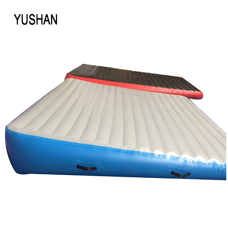 inflatable air inclined mat cheese mat for gymnastics