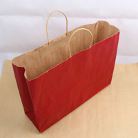 Colorful printing new listing popcorn bags microwave kraft paper bag