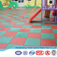 Pro Environment Outdoor Playground Rubber Tiles