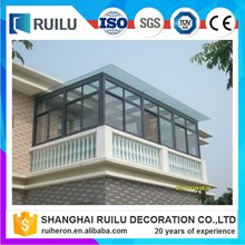 Outdoor Aluminum Frame Glass House