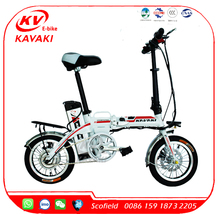 KAVAKI 48V 10AH Foldable Ebike Covered Electric Bicycle
