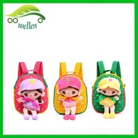 wholesale china cheap cute little kids backpack, backpack hanging toys