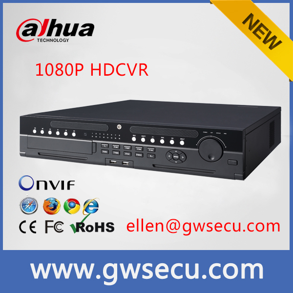 dahua HCVR7816S-URH All channel 2U 1080P HDCVI Standalone DVR / h 246 dvr / h 264 standalone 16 channel dvr