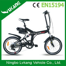 yongkang electric folding bike/bicycle/vehicle/scooter china for Israel EN15194 israel