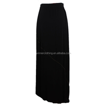 hot sale 100% viscose crepe long skirt, pictures of ladies long skirts