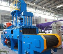 Wire mesh belt Shot Peening Machine