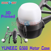 SDSHOBBY 3D Printed Motor Case Motor Protector Cover Cap Motor Hard Shell for YUNEEC Q500 4K Waterproof Dustproof Anti-collision