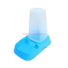 Quality pp plastic automatic pet feeding auto bowl dog drinking