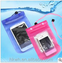 Cell phone waterproof cases pounch pvc waterproof bag for iphone6 Waterproof Underwater Pouch Dry Bag Case Cover