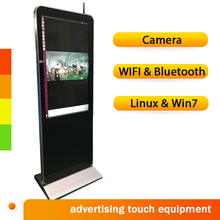 43 inch 1080P android oled touch screen wall mounted backpack lcd advertising display