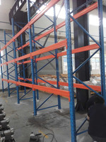 Warehouse used selective high bay warehouse steel storage racking & shelving