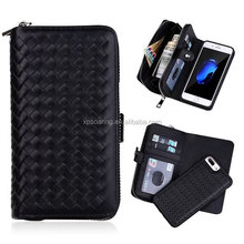 market wholesale Multi-function fission wallet insert phone cover case for iphone 7