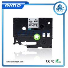 Black on white tze S221 labeling tap for Brother label printer made in China
