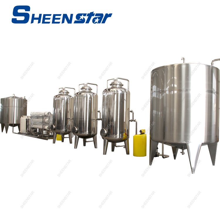 Complete RO Pure Drinking Water Processing Machine
