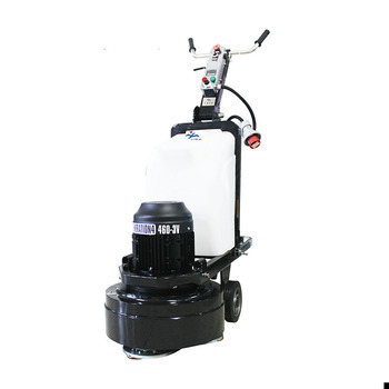Concrete stone floor grinding polishing machine