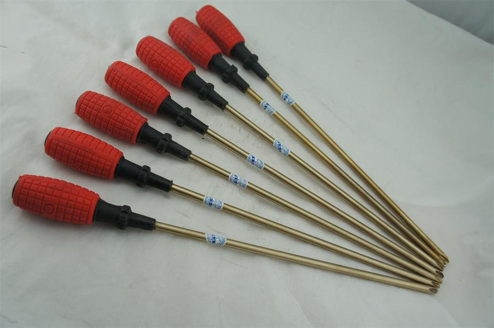 Non-sparking tools  beryllium copper  aluminum bronze   bolt driver  screwdriver  phillips screwdriver