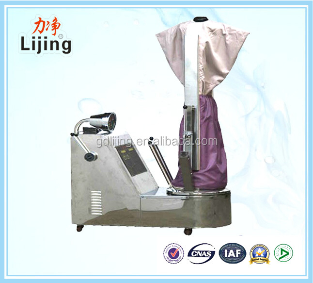 laundry washing equipment dummy ironing machine for clothes with CE approval