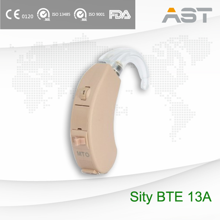 Sity BTE 13A fulll digital and manually controlled hearing aid