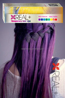 Temporary hair color REAL PLUS hair dye/brazilian hair color dye/glow in the dark hair dye