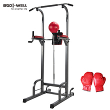 Gym Fitness Equipment Folding Home Use Chin Up Push Pull Dip Station Home Gym Power Tower Gym Equipment