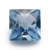 2018 Fashion 925 Silver Jewelry Making Square Checker Cut 106 Blue Color synthetic spinel value
