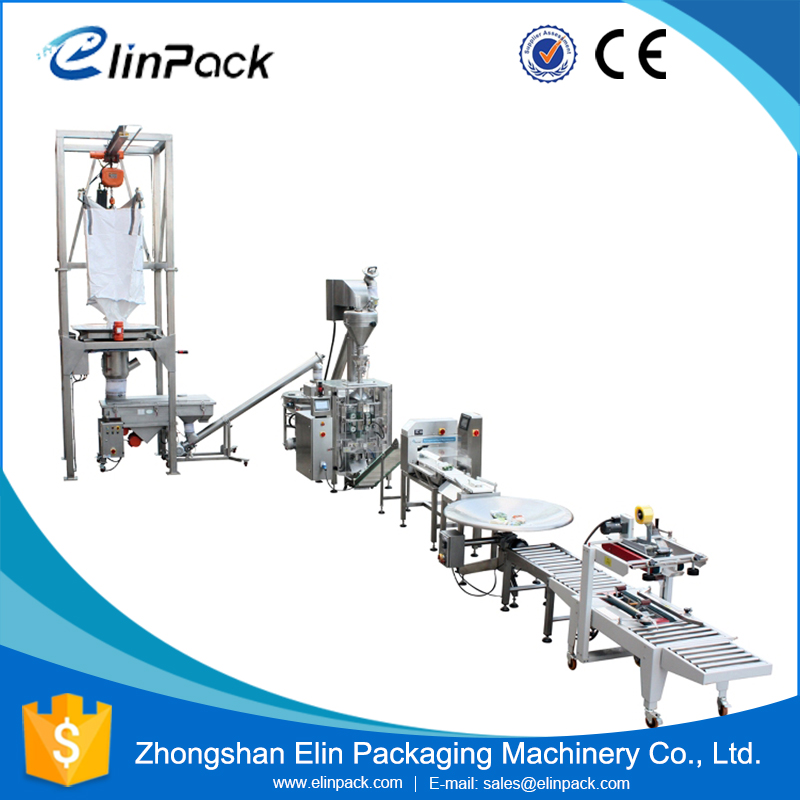 2017 New Products Sugar Sachet Vertical 3-Side Bag Packing Machine