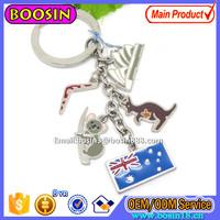 Custom Metal Flag Keychain National Culture Theme Keychain Best Gift #16587