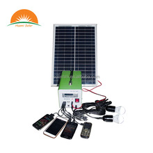 High Quality 20W Home Use Solar Lighting System Solar Kits