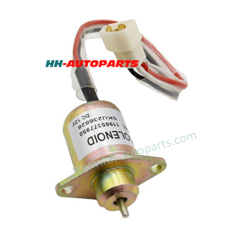 Fuel Diesel Engine Stop Solenoid 12V 24V for European Car, American Car, Japanese Car with 1 Year Quality Warranty