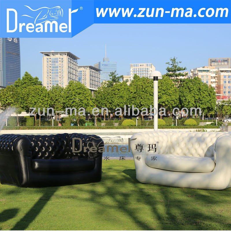 Giant advertising inflatable air outdoor sofa