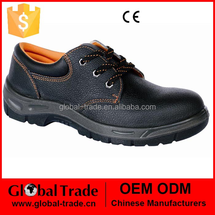 Mens Leather Safety Steel Toe Cap Boots Work Ladies Trainers Hiking Shoes 450615