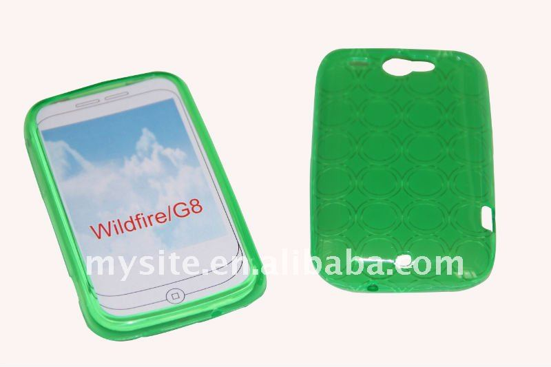 Protective Cell Phone TPU Case Covers for HTC Wildfire/G8