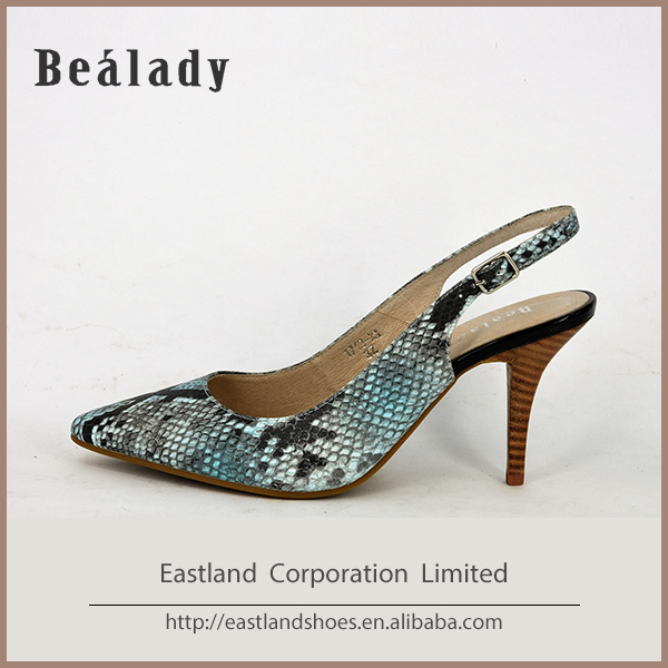 Custom designs large size high heel shoes for women