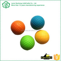 pu stress golf balls with custom logo printed