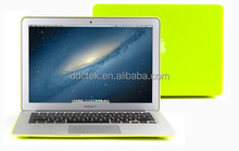 Factory price matte frosted hard PC shell tablet covers and cases for apple macbook
