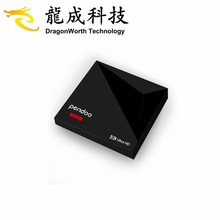 2018 New design Pendoo Mini RK3328 1g 8g Android 8.1 tv box google download free play store for medical use KD player 18.0