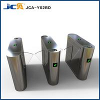 new design gate pedestrian barriers flap turnstiles gate, security flap barriers for building management system