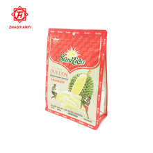 plastic packet pouch packaging bag food