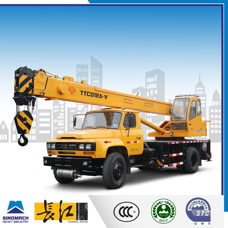 12 ton boom truck cranes for sale, mobile crane with truck 15 tons, best price for small lifting machine