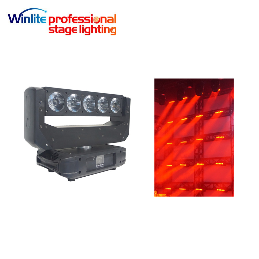 2017 new 5x20w 4in1 RGBW pixel effect wash led moving head beam light
