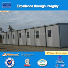 China supplier quick install best price prefab container house for site dormitory