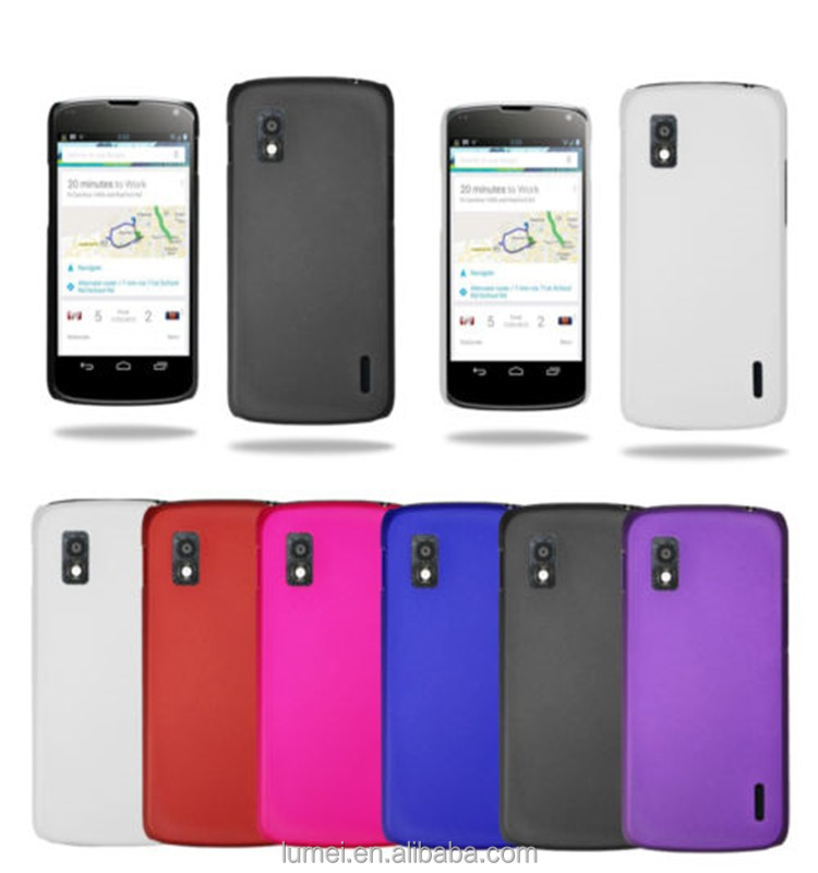 Stylish Hybrid Hard Back Case Cover For LG Google Nexus 4 E960