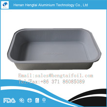disposable aluminium foil food container for airline