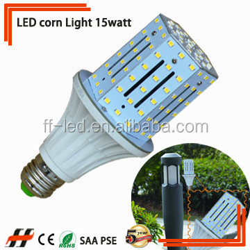 150watt HID replacement 360degree E26E27 15w LED corn light retrofit for MHL CFL