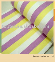 cotton polyester yarn dyed dobby fabric